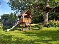 Dětské hřiště - ubytování Zelená Lhota