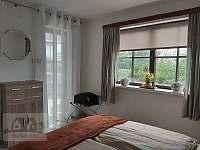 Ložnice 1 v přízemí byt - pronájem apartmánu Horní Planá - Hůrka