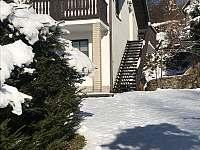 Rekreační dům v zimě - Horní Planá - Hůrka
