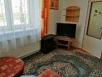 Obývák - pronájem apartmánu Horní Planá