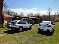 Parkování vozidel na vlastním pozemku - Horní Planá