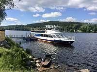 Vyhlídkové plavby po jezeře - Frymburk