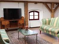 Obývací pokoj 2 - apartmán k pronájmu Vimperk
