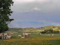 pastvina s duhou - Hliněný Újezd
