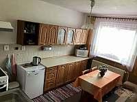 Kuchyň - apartmán ubytování Modrava