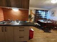 Kuchyně - apartmán k pronajmutí Zdíkov - Masákova Lhota