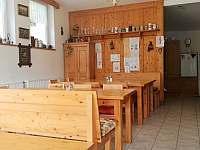 Společenská místnost - jídelna - ubytování Železná Ruda