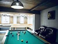 Společenská místnost - chata k pronájmu Nicov - Popelná