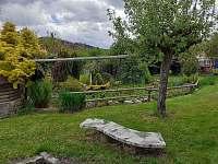 zahrada - chalupa ubytování Čkyně