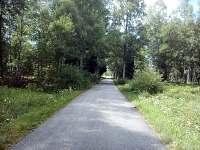 cyklotrasa Nové Údolí - Lipno - Pěkná