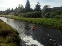 vodáctví na Vltavě - pronájem chalupy Pěkná