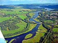 začátek Lipenské přehrady - Pěkná