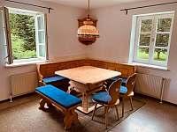 Apartmán 1 - jídelna - k pronajmutí Schöneben