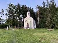 Kaple na kopci Marta - Frymburk