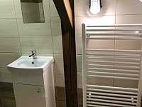 Koupelna - pronájem apartmánu Srní