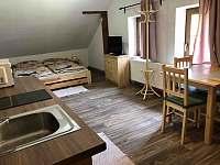 Ukázka apartmánu - ubytování Srní