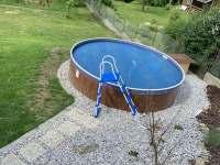 Bazén - pronájem chaty Velhartice