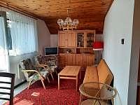 Apartmán v patře - obývací pokoj - pronájem chaty Lipno nad Vltavou - Kobylnice
