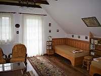 Druhá ložnice má i velkou terasu. - Petrovice u Sušice - Vojetice
