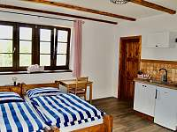Apartmán č.1 třílůžkový - ubytování Zdíkov - Zábrod