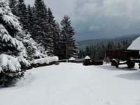 Churáňov v zimě - Zdíkov - Zábrod