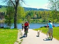 cyklostezka - Lipno nad Vltavou