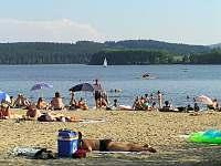 pláž - Lipno nad Vltavou