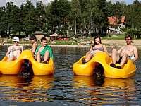 vodní sporty - Lipno nad Vltavou