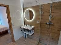Koupelna v C2 se sprchovým koutem a vanou - Nová Pec