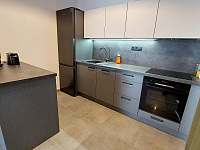 Kuchyň s ostrůvkem C1 - apartmán k pronajmutí Nová Pec