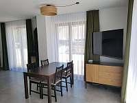 Obývací pokoj C1 - apartmán k pronájmu Nová Pec