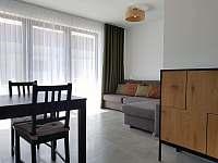 Obývací pokoj C1 - apartmán ubytování Nová Pec