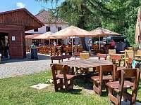 Restaurace na pláži - Nová Pec