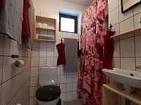 Chata č. 2 - koupelna se sprchovým koutem, wc - k pronajmutí Hnačov