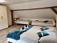 Apartmán I - ložnice - Rožmberk nad Vltavou