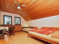 Ložnice - apartmán ubytování Přední Výtoň