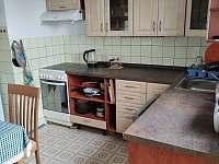 kuchyně - chata k pronájmu Struhadlo