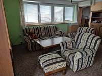 obývací pokoj - pronájem chaty Struhadlo