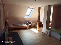 Obytná část apartmá - k pronajmutí Horní Planá