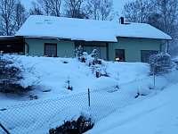 Zimní období - apartmán k pronajmutí Horní Planá