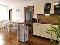 Kuchyň - apartmán k pronajmutí Hartmanice