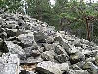 Kamenné moře u Popelné - Stachy