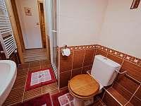 Brusinkový pokoj - koupelna - Kocourov