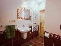 Jablíčkový pokoj- koupelna - Kocourov