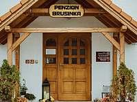 Penzion vchod - Kocourov