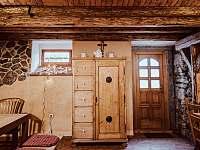 Společenská místnost - vchod na terasu - Kocourov
