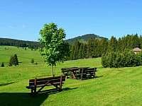 Vyhlídka na Antýgl - v létě
