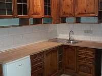 Apartmán Lipno-apartmán 1 kuchyn mikrovlnka lednice