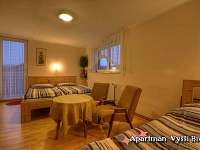 Apartmán Vyšší Brod pokoj