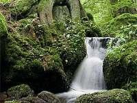 Vodopád sv Volfganga Vyšší Brod